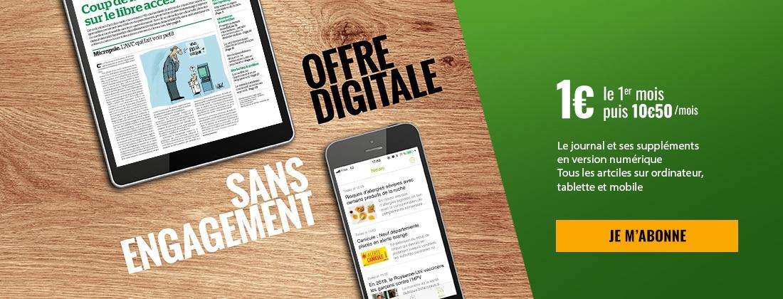 Offre digitale - Sans engagement