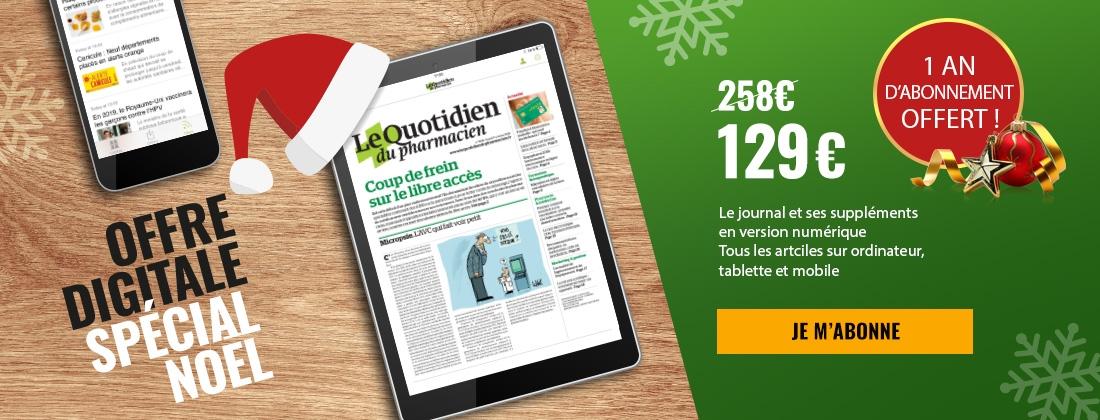 Offre spécial noël 100% digitale - 1 an d'abonnement offert !
